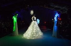 Wedding Dress With Lights