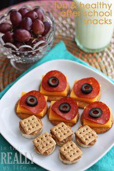 Healthy after-school snack ideas #backtoschool #tillamook #recipe