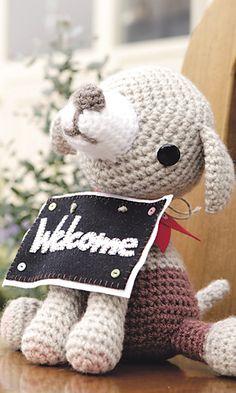 Crochet Welcome Dog!