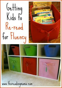 Getting Kids to Re-read for Fluency {free printable} from This Reading Mama #SmartMarch
