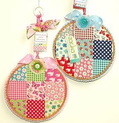 Hoop decorations-baby boy&girl