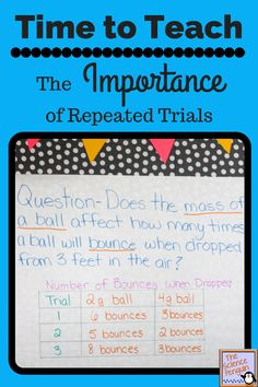 Time to Teach: The Importance of Multiple Trials