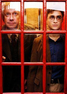 Mr. Weasley & Harry Potter