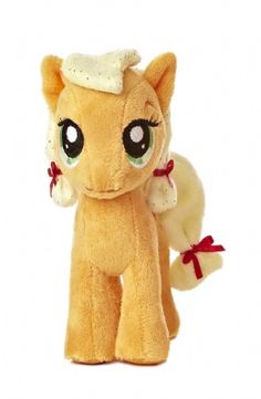 Applejack 6.5-inch Mini Plush (My Little Pony) at theBIGzoo.com, a toy store featuring 3,000+ stuffed animals.