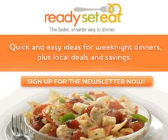 Ready Set Eat -- Coupons, Free Recipes, and More! #coupons #deals #recipes