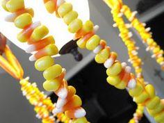 Make a Candy Corn Garland