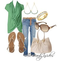 Summer Casual !!, created by thebeautyinsiders on Polyvore