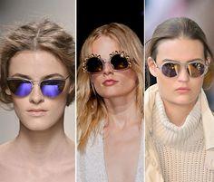 Spring/ Summer 2014 Eyewear Trends: Sunglasses of Creative Shapes  #sunglasses #eyewear
