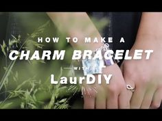 Duct Tape Craft Ideas: How to Make a Duck Tape Prism Charm Bracelet with LaurDIY - YouTube