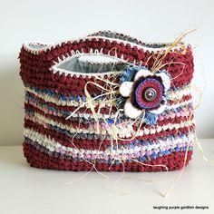Rag Basket by laughingpurplegoldfish, via Flickr