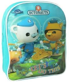 Amazon.com: Octonauts 'Let'S Do This' School Bag Rucksack Backpack: Clothing