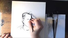 Stephen King - Time Lapse Pen & Ink Drawing#INKtober #AllHallowsRead Time-lapse pen and ink of Stephen King. Created with Speedball Pens/Nibs and Winsor Newton Ink on Bristol Music: Eyes Down by Calabrese (Do yourself a favor and download the whole album... or any of their albums.) https://itunes.apple.com/us/album/eyes-down/id68492356?i=68492213 Check out inktober information at: http://mrjakeparker.com/inktober Give a book this Halloween!: http://www.allhallowsread.com/