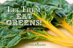 Get To Know Your GREENS!  Tutorial on how to buy, prep, and cook with leafy greens - with many recipe links, including other cooks and authors.