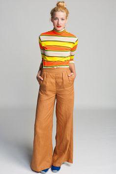 Koshka - Line & Dot 70s Wide Leg Pant