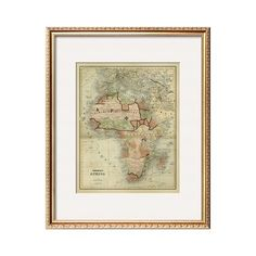 I pinned this Antique Map of Africa - Art.com from the Out of Africa event at Joss and Main!