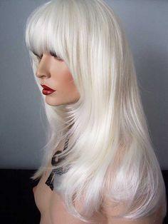 Wig: Sharon, -Platinum Blonde