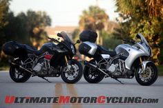 Motus MST-R and MST Sport Touring Motorcycles