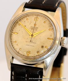 Extremely Rare Rolex Explorer Ref 6098. This is a Circa  4th Quarter 1952 model before the Explorer name was introduced to the public.
