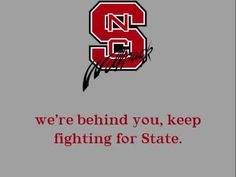 North Carolina State Wolfpack - fight song with words - North Carolina State Fight Song
