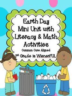 literaci station, spring maraprmay, teacher style, earth day, teach idea