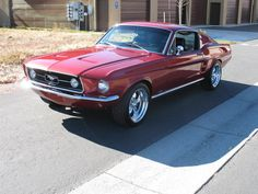 My first car 1967 Mustang