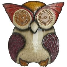 Wise Owl Wall Decor