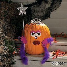 Halloween Idea! craft, halloween idea, fall decor, pumpkins, pumpkin princess, pumpkin decor, princesses, princess pumpkin, princess halloween