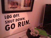 Take the time to go for a run!