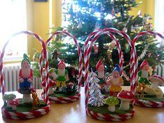 Make gnome ornaments handmade