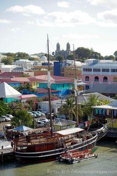 Cruise port at St. John's, Antigua http://america.de/karibik/antigua-barbuda