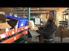 How Full Circle Farm Packs a Community Supported Agriculture (CSA) Box_ ...