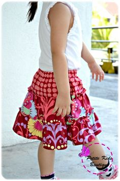 Lucy Skirt PDF Pattern and Instructions