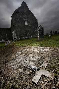 Old Graveyards and Churches in the Wild