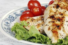 Simple Grilled Ranch Chicken
