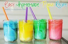 homemade paint (learn create love)