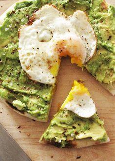 Avocado and Egg Breakfast Pizza! Yummy breakfast recipe! | just in a blakeney
