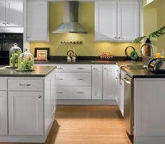 Updating your cabinets can give a whole new look to your kitchen.