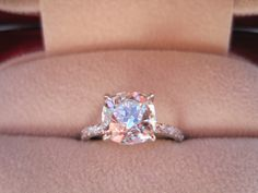 Blush diamond. This is absolutely stunning..