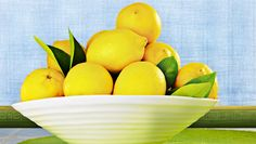 A bowl of lemons...so many great uses