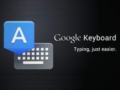El nuevo teclado para Android de Google ya está disponible y lo puedes descargar ✿⊱╮Teresa Restegui http://www.pinterest.com/teretegui/✿⊱╮