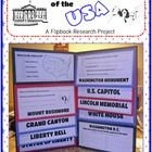 Don't just research the famous landmarks and symbols of the USA ... create a fun flipbook! This Library Patch product includes EVERYTHING that you need to produce an appealing project that requires the students to research pertinent facts about eight famous American landmarks. $