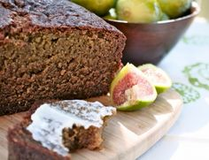 Fig Bread: Part of me just wants to make something with figs. That's all. :)