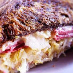 I still remember this #reuben #sandwich from The Barley Oak. Perfection!