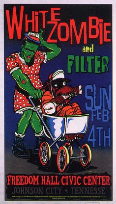 White Zombie and Filter