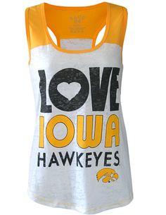 Love Iowa Hawkeyes!