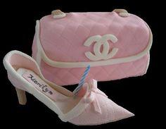 Chanel Purse & High Heel by ConceptCakes, via Flickr