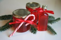Holiday Gift Idea...How to make Candy Cane Syrup~ For pancakes, ice cream, brownies, pies, cheesecake toppings and more! Now you know what to do with all those left over candy canes after Christmas too!