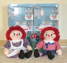"""18"""" Dakin Special Collector's Edition Raggedy Ann and Andy #DakinCollectorsEdition"""