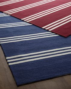 """""""Chester Stripes"""" Rug at Horchow."""