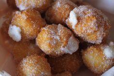 Receta de buñuelos de maizena sin gluten para celiacos.